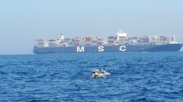 Reto cruce del Estrecho de Gibraltar